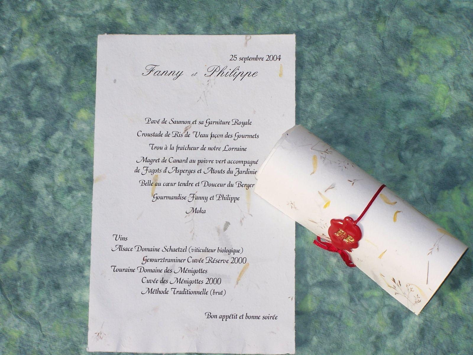 Pin menu mariage menu mariage original carte menu mariage - Modele plan de table mariage gratuit ...